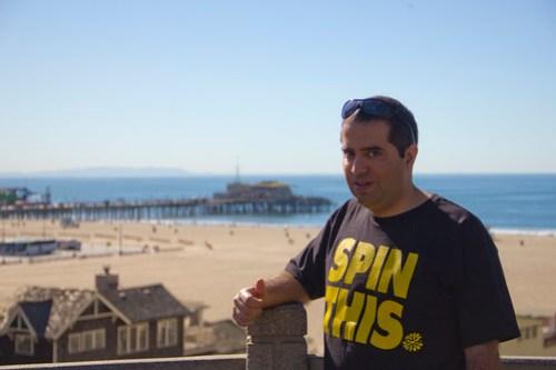 45 Nacho en Santa Mónica playa