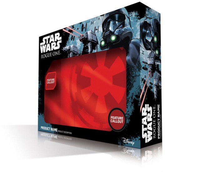 Star Wars Rogue One packaging