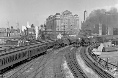 CNW, Chicago, Illinois, 1950s