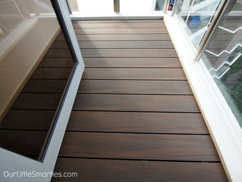 wood composite decking