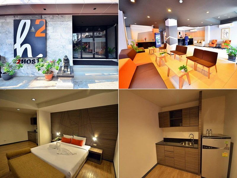 The 34 New Open Hotels in Bangkok in 2014 nearby BTS and MRT Stations, Thailand.