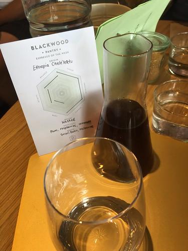 Blackwood Pantry, Cronulla. V60 Ethiopian Chele'lektu