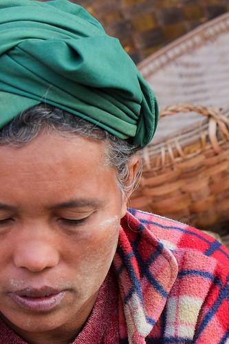 Vendor. Zeigyo market. Mandalay