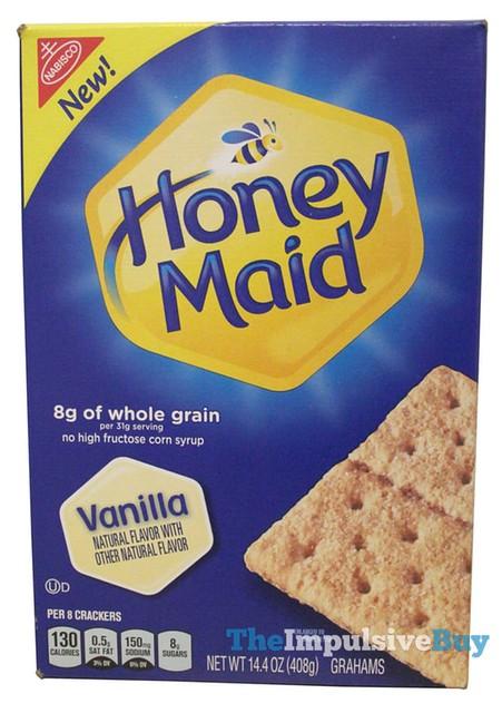 Honey Maid Vanilla Graham Crackers