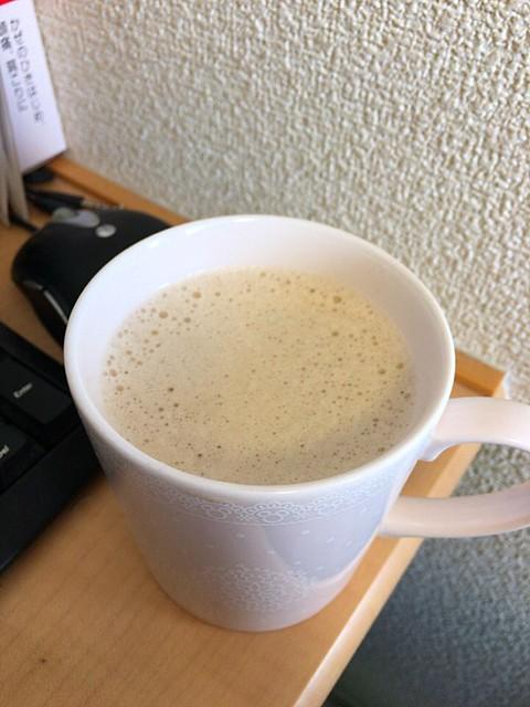 ふわふわココナツオイル紅茶