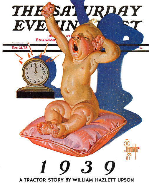 Saturday Evening Post v211 n27 [1938-12-31] cover