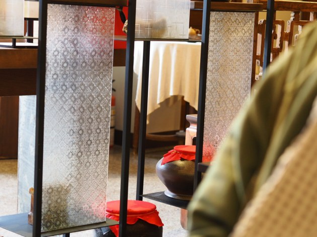 茶事空間「大陸」の店内の様子