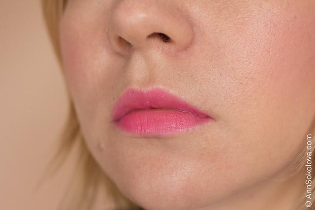 15 L'Oreal Exclusive Collection By Color Riche Lipstick Розовая симфония Natasha's Delicate Rose swatches