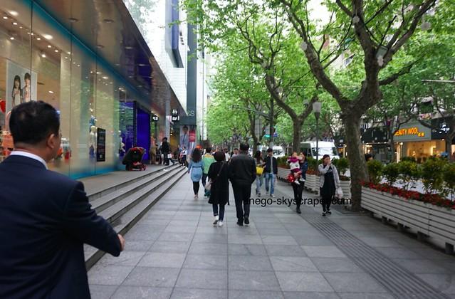 南京西路 ショッピング街