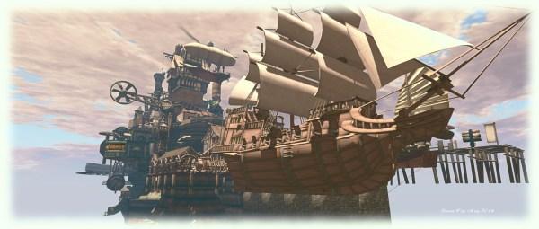 Pirates And Airships In Life Inara Pey Living