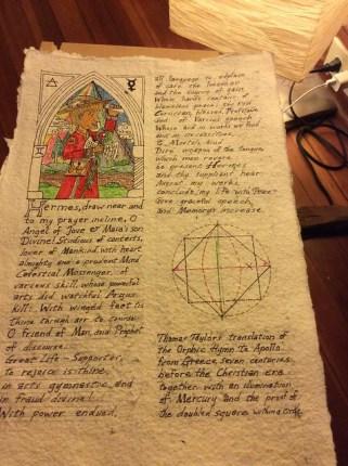 Hermetic Scroll