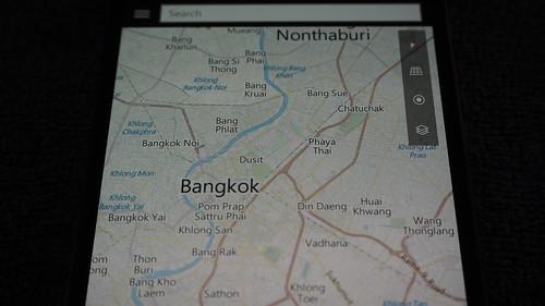 แผนที่เป็นภาษาอังกฤษ แต่ถ้าเพิ่มภาษาไทยเข้าไปก็ได้นะ