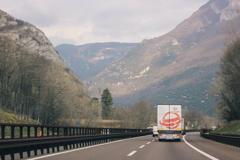 On the way to Campitello