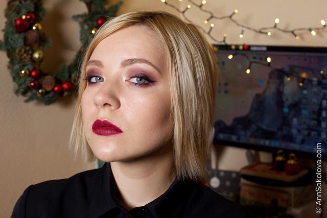 04 Holiday New Year Christmas Makeup Ann Sokolova video