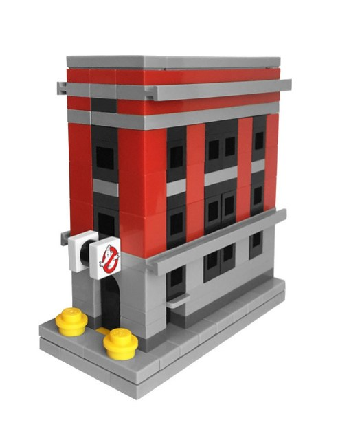 LEGO Micro Ghostbusters Firehouse Headquarters