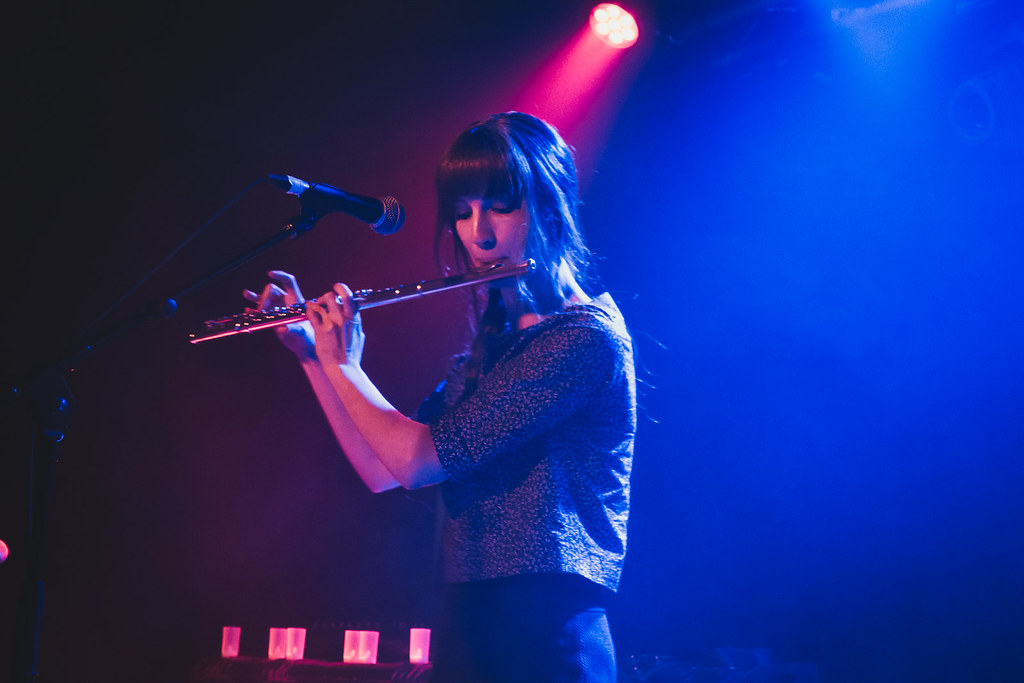 Laura J Martin supporting The Joy Formidable at Oslo