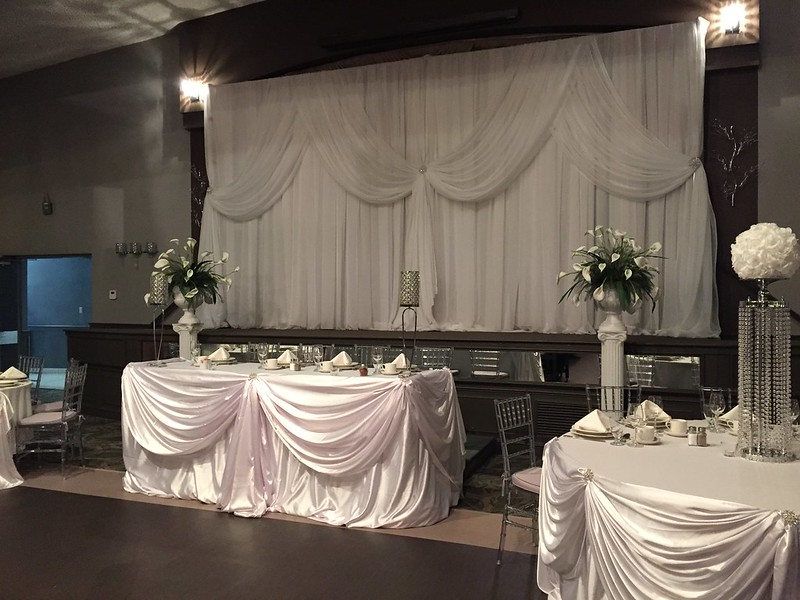 chair cover elegance zero gravity chairs on sale head table bridal wedding designs groom touch of album party by decor