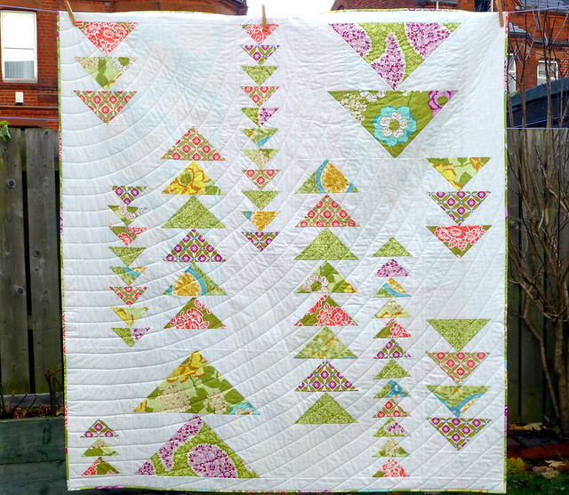 Spring Geese Quilt for Popular Patchwork Mar16