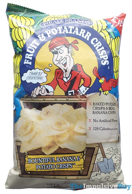 Pirate Brands Bountiful Banana & Potato Crisps
