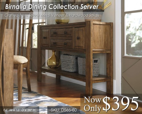 Birnalla Dining Server