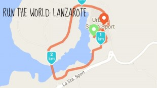 Run the world Lanzarote