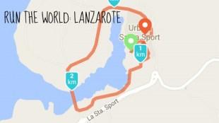 Run the world Lanzarote