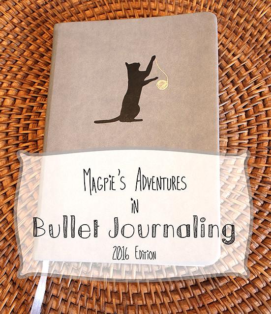 Bullet Journal 2016 header