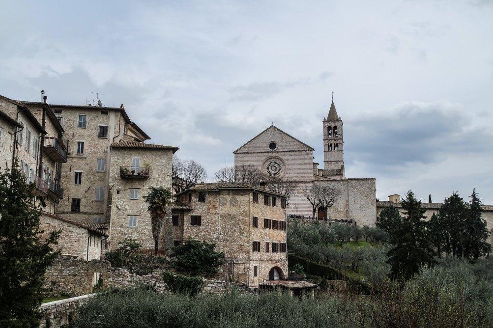 Veduta della Basilica di Santa Chiara