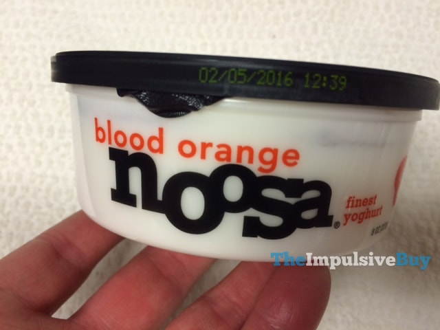 Limited Batch Blood Orange Noosa Yoghurt