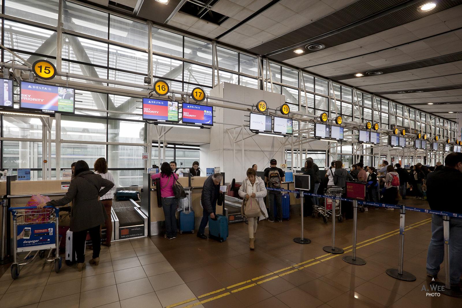 Delta Sky Club in Santiago Airport SCL  QUIRROW