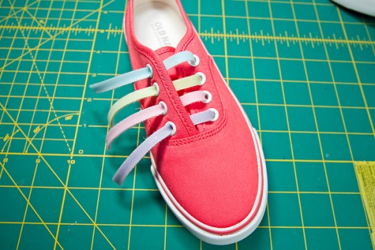 DIY Velcro Shoes