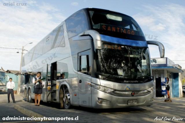 Buses Altas Cumbres - Constitución - Marcopolo Paradiso 1800 DD / Scania (DSSY95)