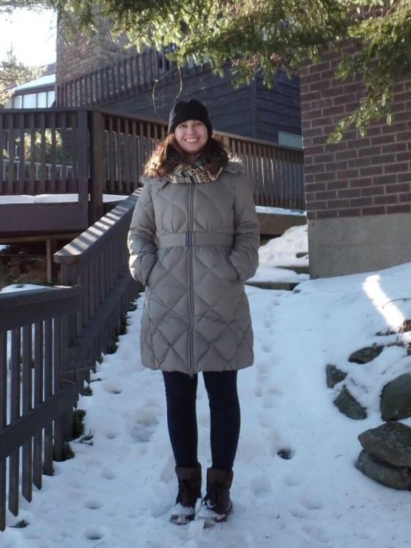 Uniqlo Down Coat | Shades of Sarah