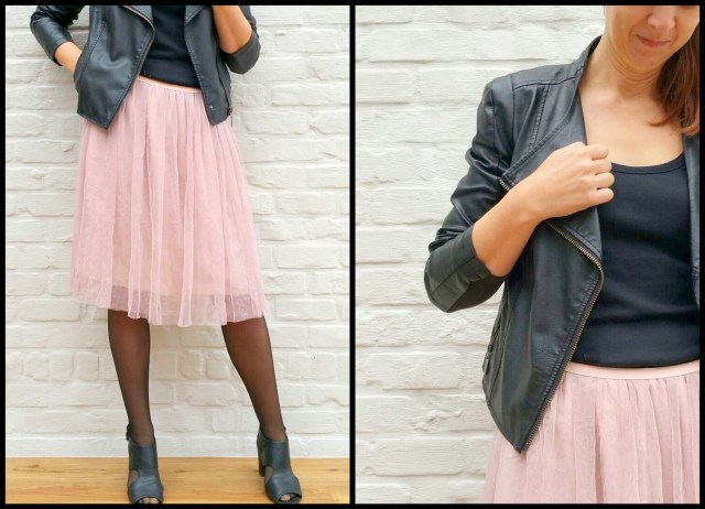 tule/chiffon skirt (rock)