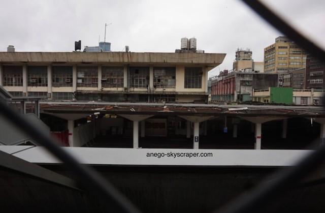 基隆 閉鎖された駅舎