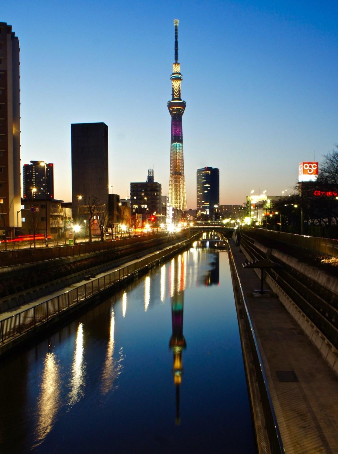 Tokyo Skytree Valentine Color Illumination