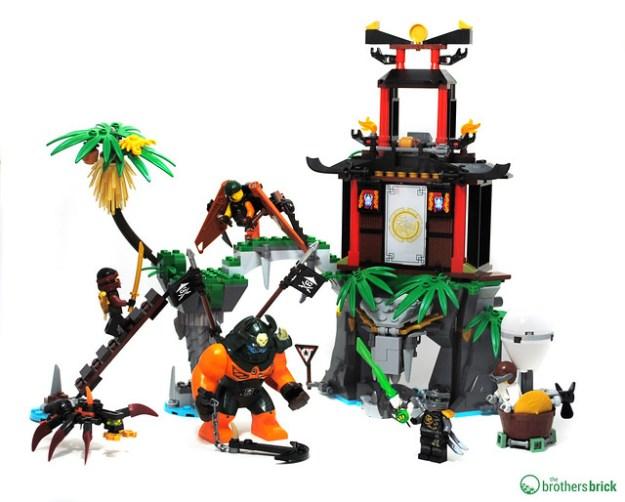 lego ninjago 70604 tiger widow island review the