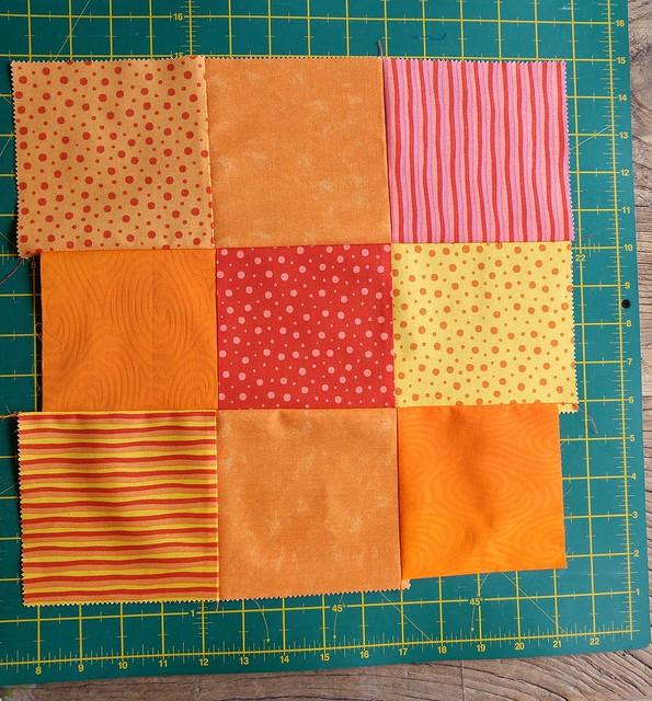 Random 9 squares