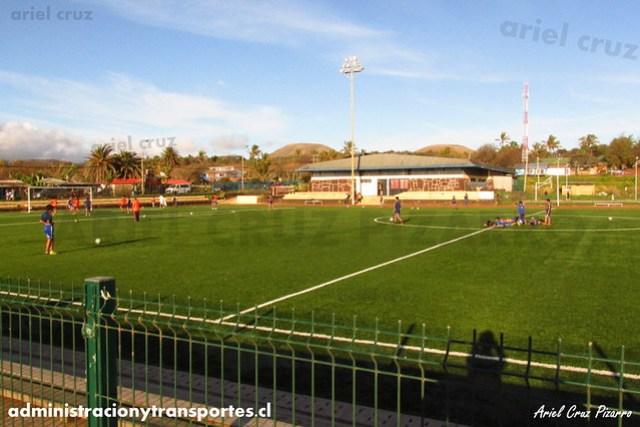 Estadio Municipal Hanga Roa - Isla de Pascua