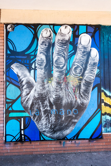 La Mano by Jetsonorama and J.B. Snyder - Mural.