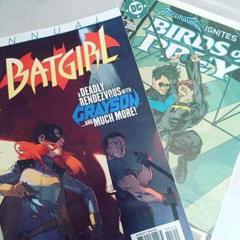 Batgirl & Grayson