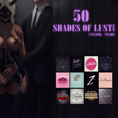 50 Shades Of Lust Fair 2 Flyer