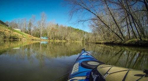 Saluda Lake Paddling-50