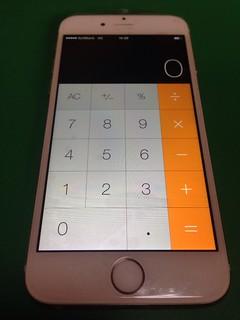 64_iPhone6のフロントパネルガラス割れ