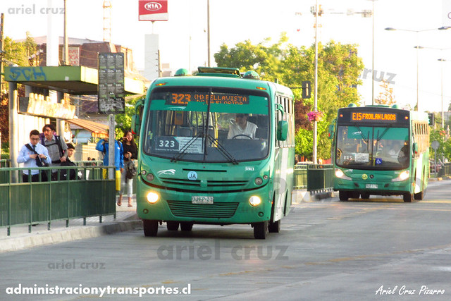 Transantiago - Buses Vule - Busscar Micruss / Mercedes Benz (BJFP21)