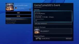 User Scheduled Event 2