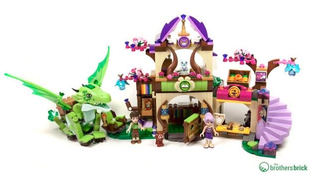 Ausmalbilder Lego Elves Drachen: LEGO Elves: 41176 The Secret Marketplace [Review]