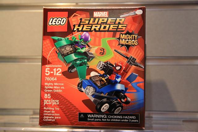 LEGO Marvel 76064 Spider-Man vs. Green Goblin 1