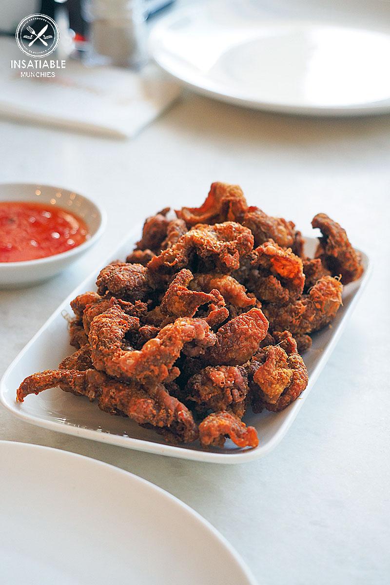 Crispy Chicken Skin: PappaRich Bankstown. Sydney Food Blog Review