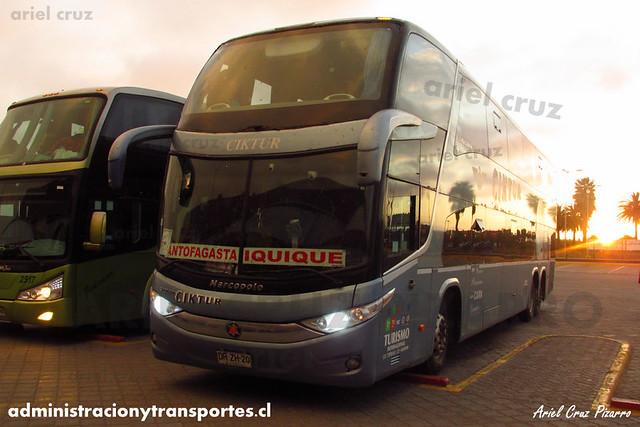 Ciktur | La Serena | Marcopolo Paradiso 1800 DD - Volvo (DRZH20)